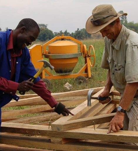 Building a House In Africa