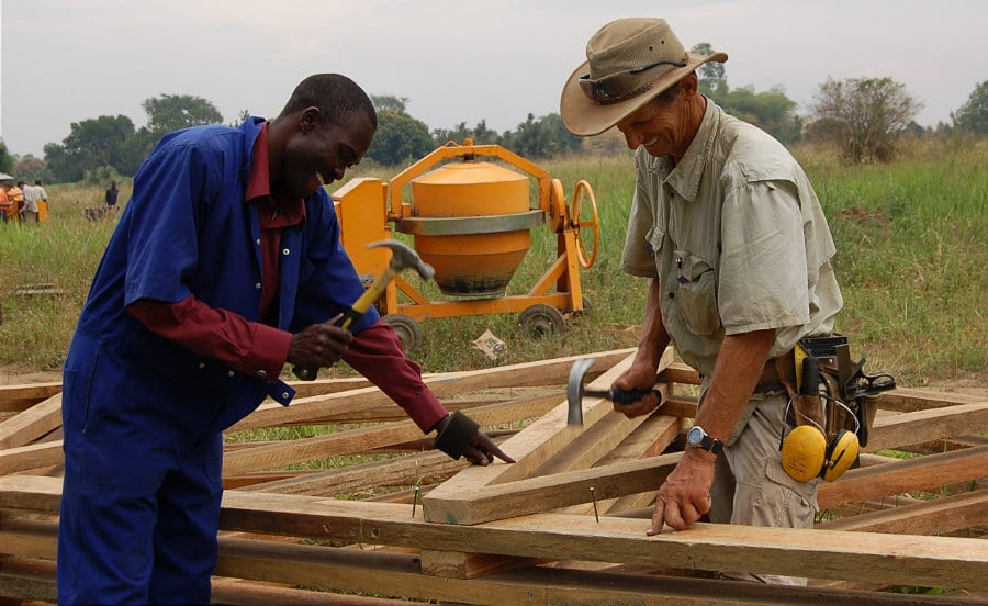 Building a House In Uganda