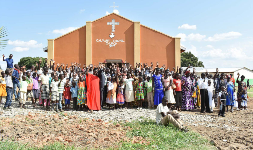 Opit Church Dedication
